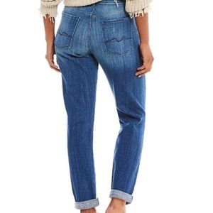 7 for all mankind Josefina Button Fly Jeans